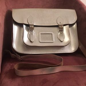 The Cambridge Satchel Co Metallic Satchel